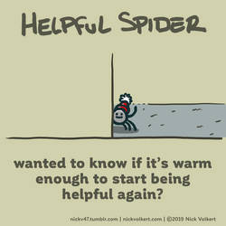 Helpful Spider - Warm enough by nickv47