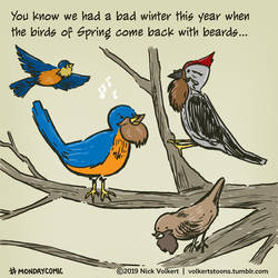 Monday Comic - Bad Winter by nickv47