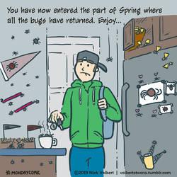 Monday Comic - Bugseason by nickv47