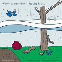 Monday Comic - Winter's Last Hoorah