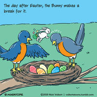 Monday Comic - Monday after Easter