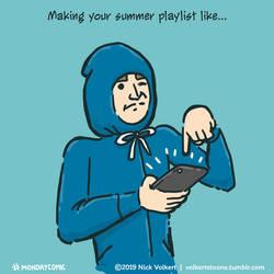 Monday Comic - Summer playlist