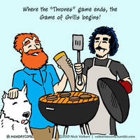 Monday Comic -  Game of Grills