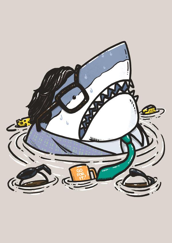 Motivational Shark