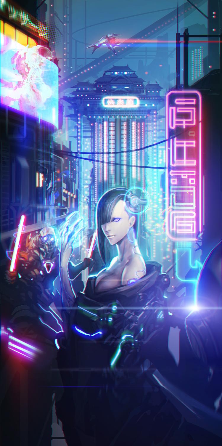 Cyber by yamaoka4499