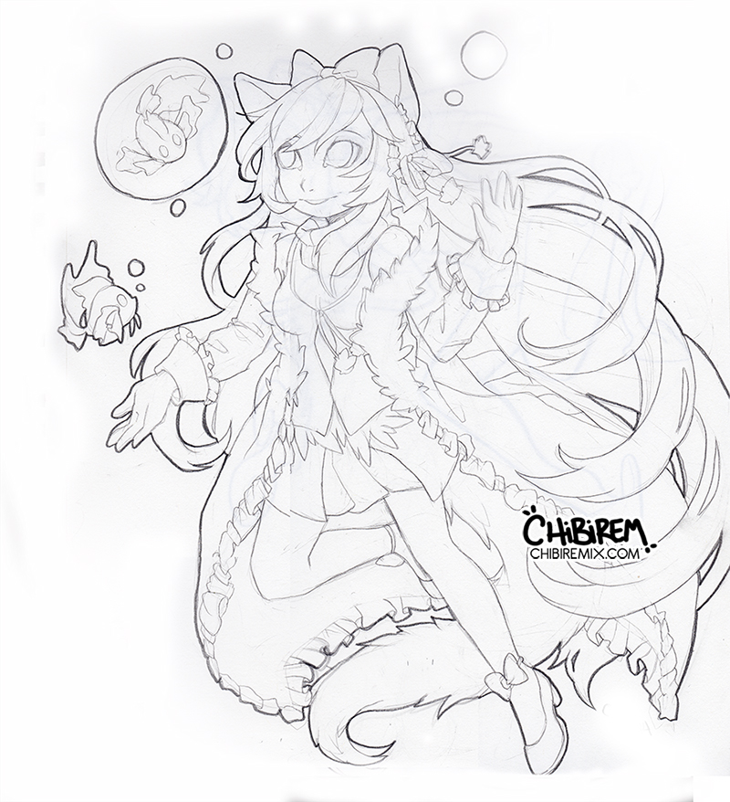 COM WIP: H0peh by Chibirem