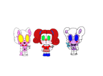 Fnaf Sister Location: mini dolls