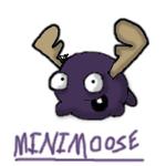 Minimoose by SnowyJayBird