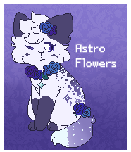 Astro Flowers [Tiny Pixel OTA] by Cassiopie