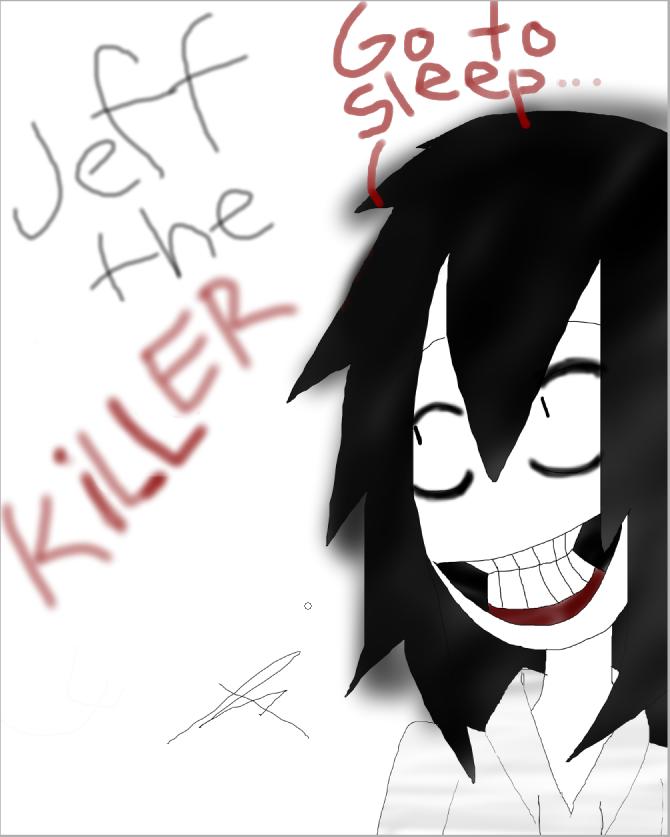 My name is Jeff...Jeff the killer.... by RacconJovis