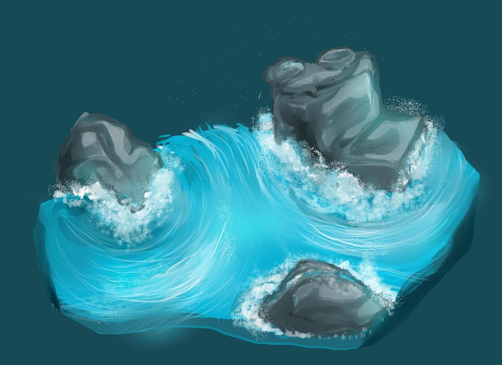 Water Sketch by KwameBraxton72