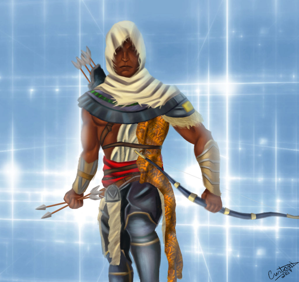 Bayek Assassins Creed Origins Fan Art By Ryushadow22 On Deviantart