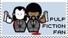 Pulp Fiction Fan Stamp
