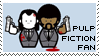 Pulp Fiction Fan Stamp by MaRtHiNa-hearts
