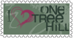 I Love One Tree Hill Stamp