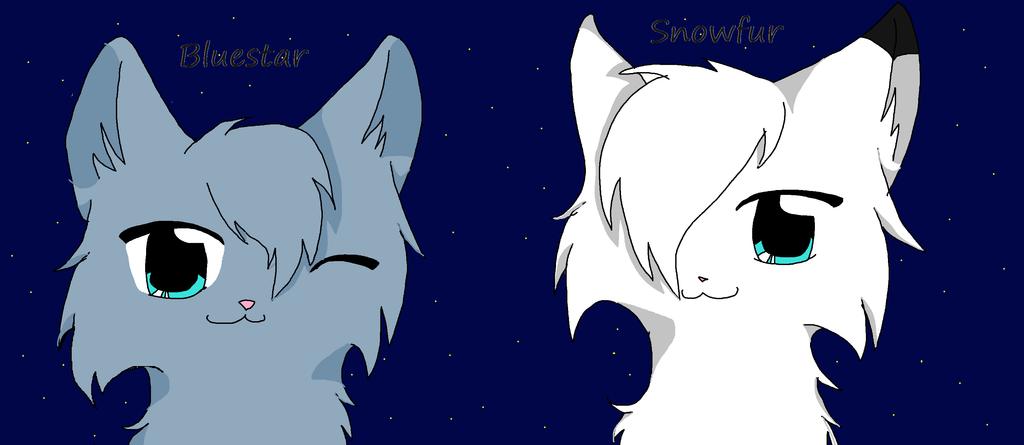 Snowfur Warrior Cat