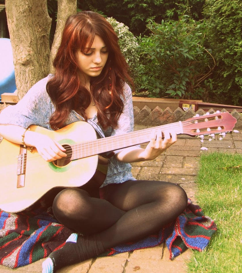 Guitar by Pixie-Flower