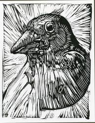 Bird by babymonkeystuff
