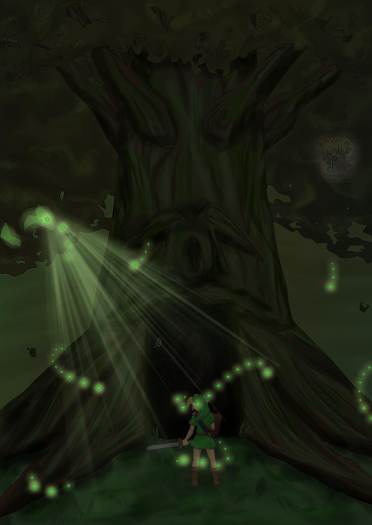 In The Great Deku Tree's Memories by studio-adhd