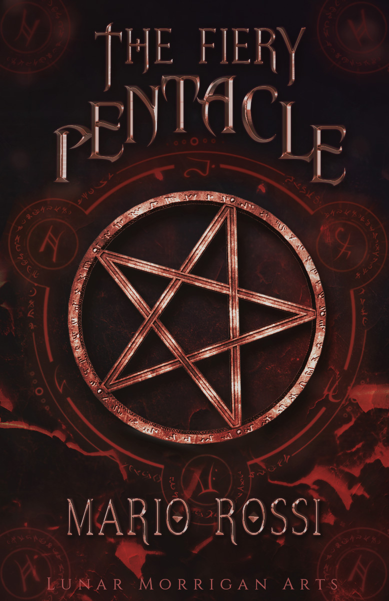 The Fiery Pentacle [Cover Premade]