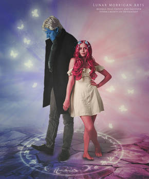 Lore Olympus - Hades and Persephone