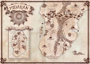 FANTASY MAP - Midaran