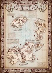 FANTASY MAP - Nemeton