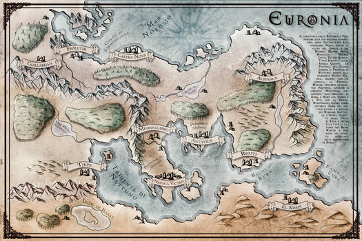 FANTASY MAP - Euronia