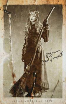FANART - Young Minerva McGonagall