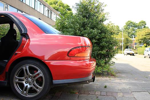 My own impreza turbo 10