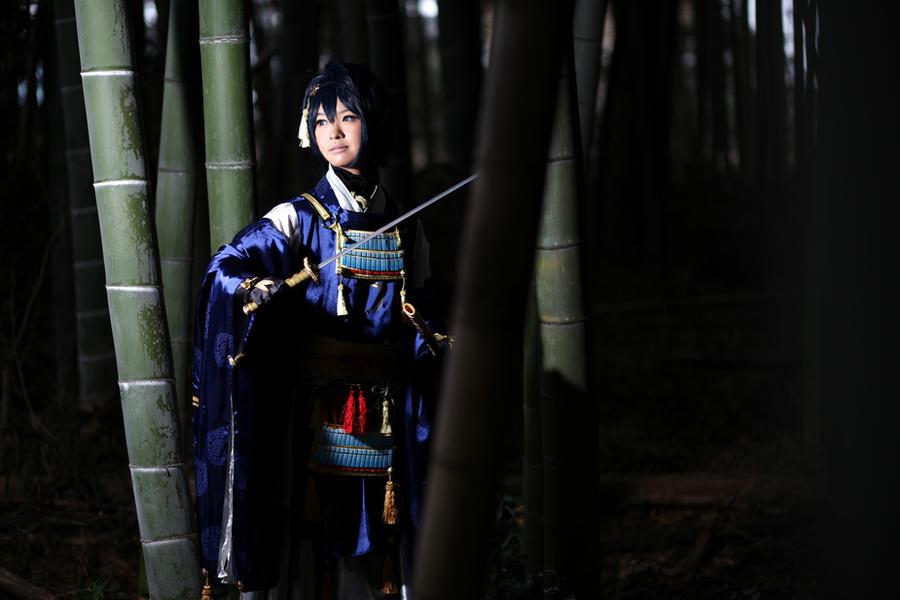 [toukenranbu - mikazuki munechika] warrior w grace by shizuku-x