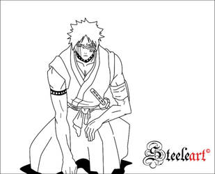 Hisagi Lines by SteeleART