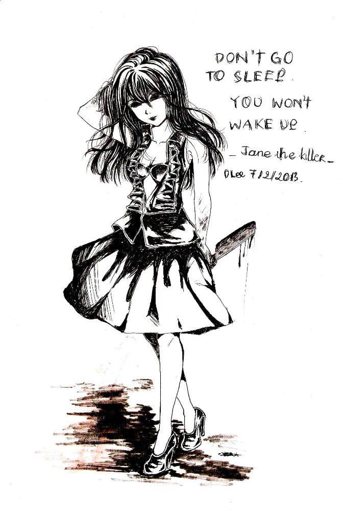 Jane the killer by dlee081297 on deviantart - Jane the killer anime ...