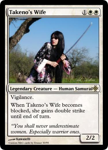 Takeno's Wife by Eruner