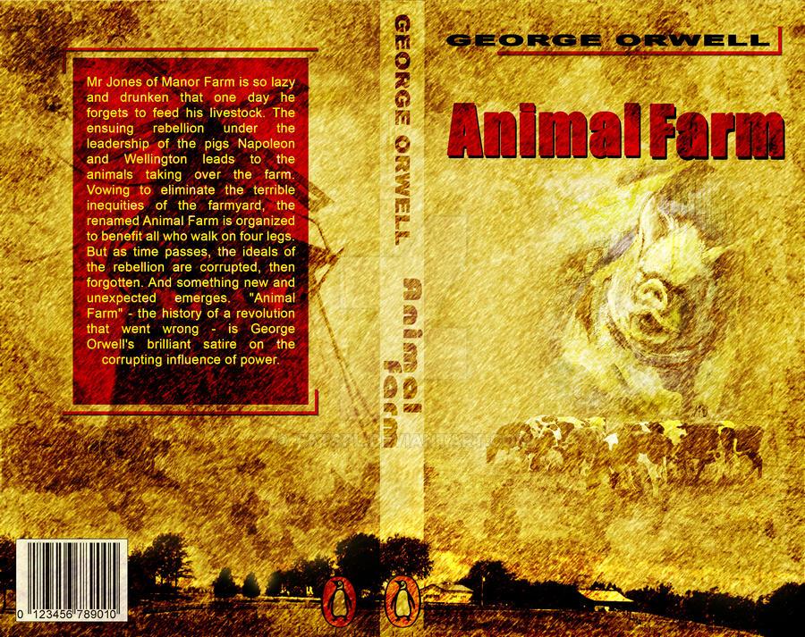 Animal Farm Book Jacket by tatspl