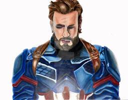 Captain America (Infinity War Ver.) drawing