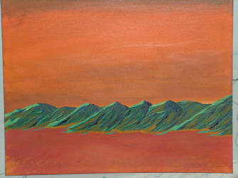 mountain study by Moorcat