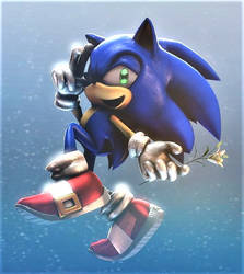 Sonic the Hedgehog :~Sonic SFM~: by CharCharRose131