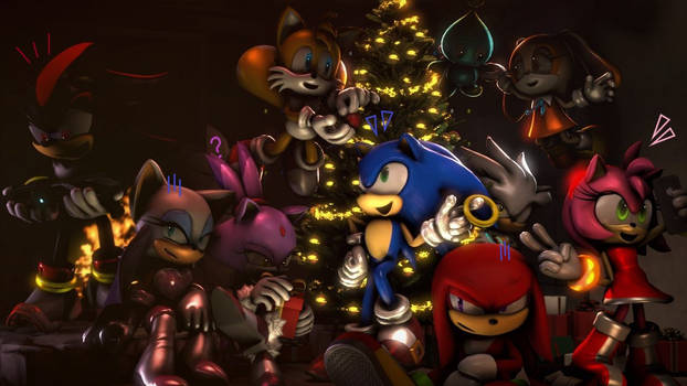 Christmas :~Sonic SFM~: by CharCharRose131