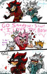 Supporting Girlfriend :~Sonic~: by CharCharRose131