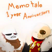 Memotale 1 YEAR ANNIVERSARY by FlareDoesArt