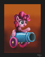 Pinkie Pie (taken from the 3rd remake) by Reillyington86