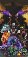 MLP villains (taken from 3rd remake)