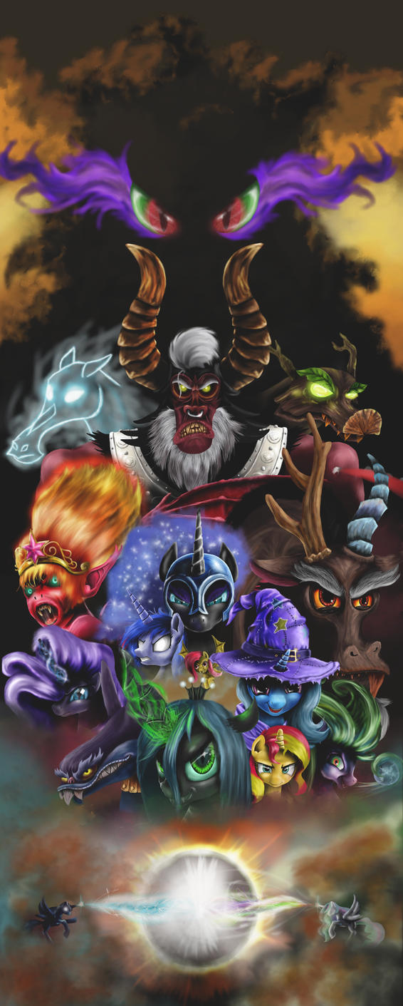MLP villains (taken from 3rd remake) by Reillyington86 on ...