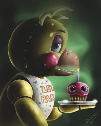 Fnaf toy chica by reillyington86 on deviantart
