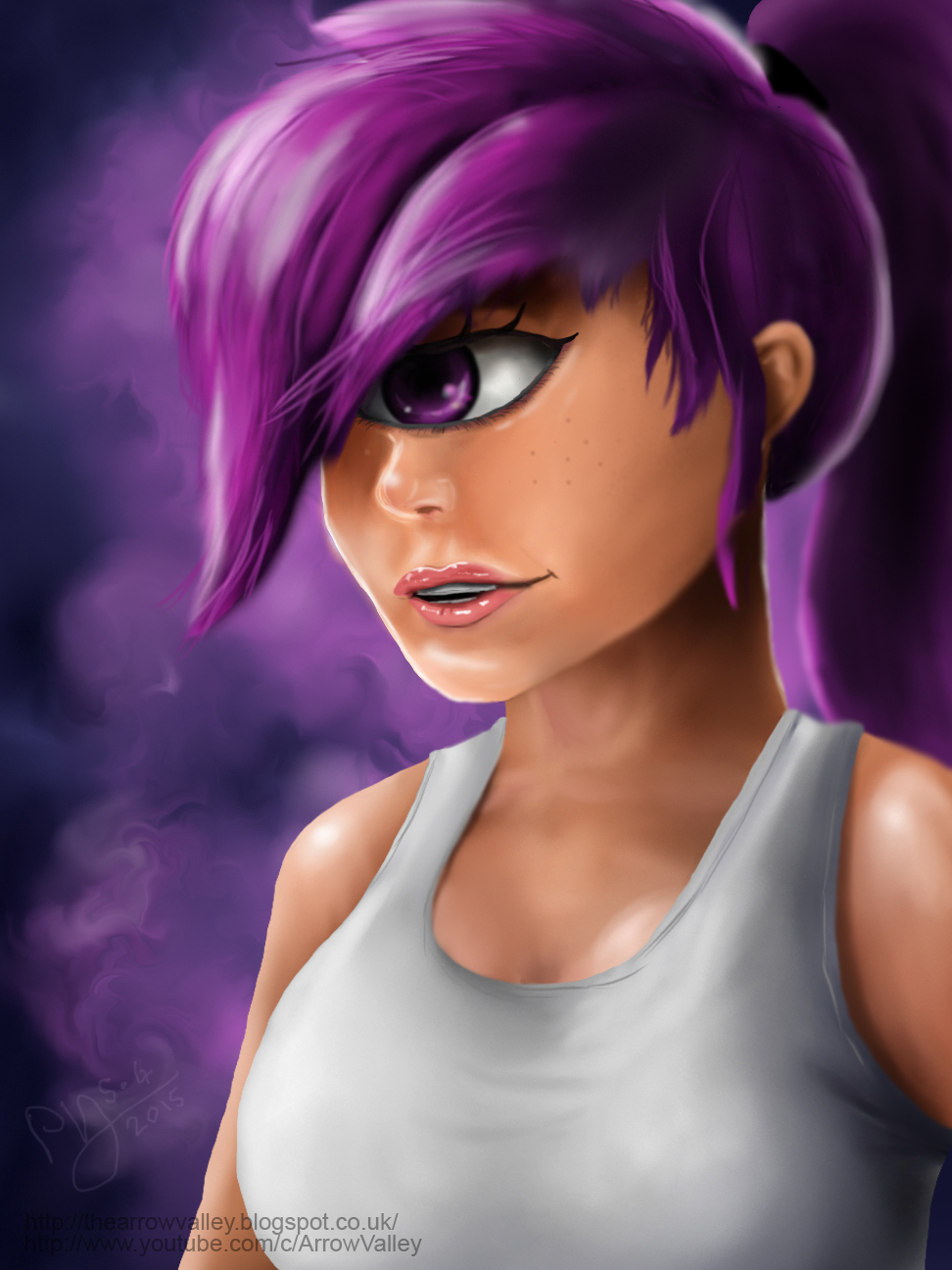 Let's Paint...Leela. by Reillyington86