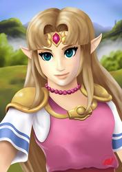 Princess Zelda, Link Between Worlds.