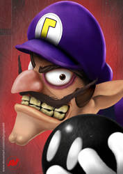 Waluigi doesn't join the fight!