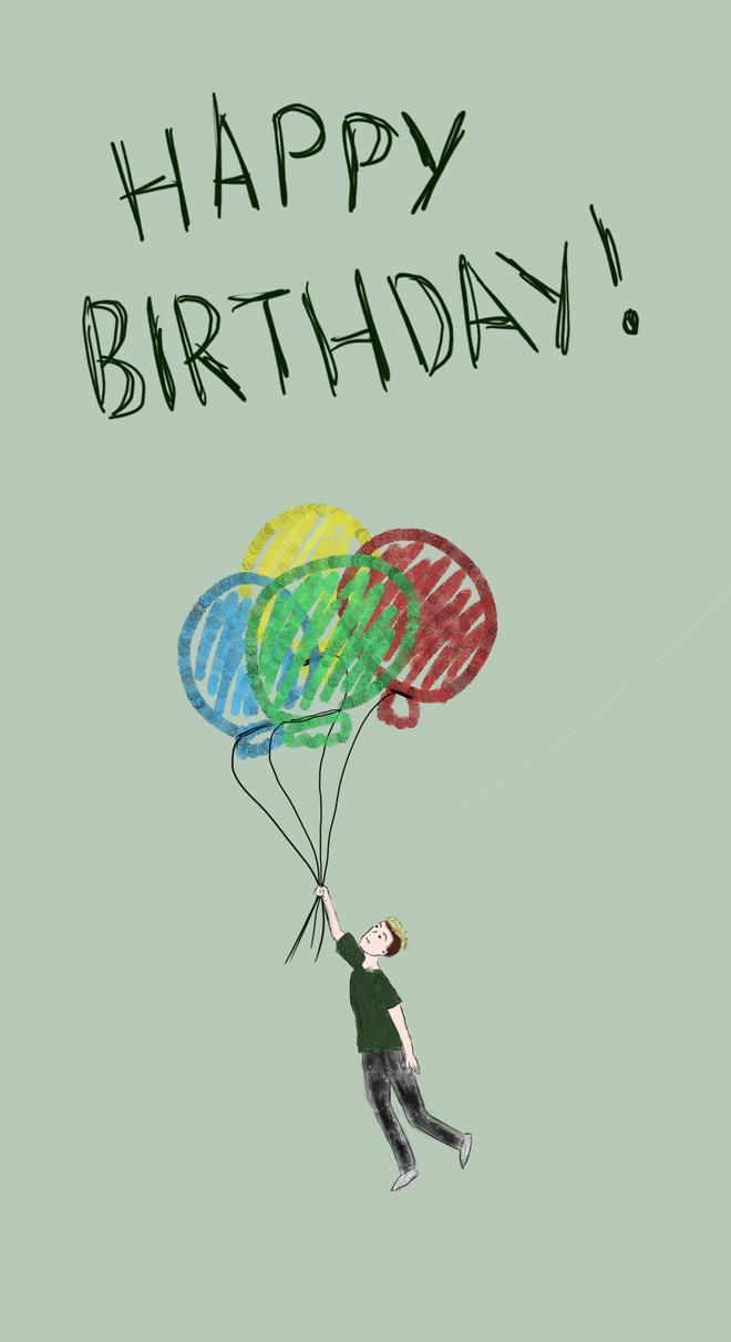 Happy birthday! by Kuwagii