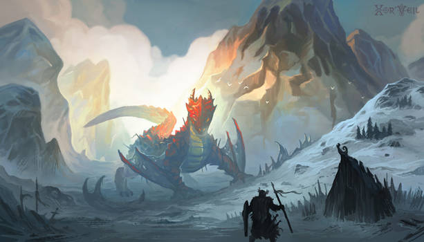 Darmbreth, The Mountain of Doom